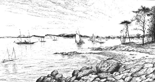 The Ancient Salt Works at Morris Cove