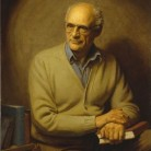 Herbert E. Abrams, Arthur Miller, 1982, oil on canvas