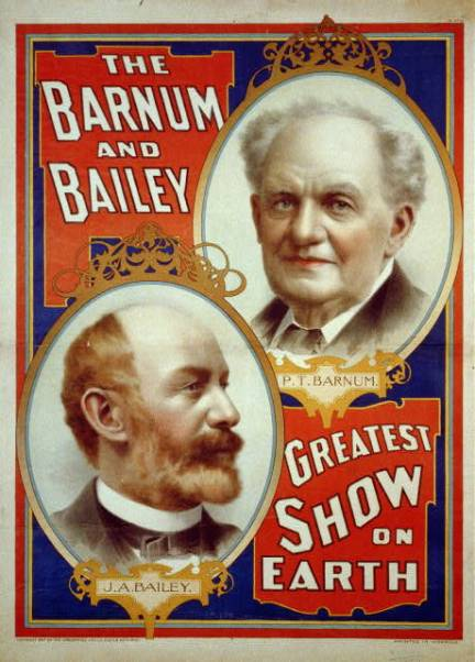 a history of phineas taylor barnum and the greatest show on earth enterprise The so-called greatest show on earth barnum was 15 years old museum in new york city as a private enterprise history - biography of phineas taylor barnum.