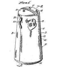 M.J. Gilman, Portable Dummy Patent Number 2,203,259June 4, 1940