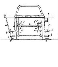 L. Brand, Shuttle Operating Mechanism for Looms Patent Number 419,818 January 21, 1890