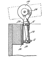 Charles L. Rathbone, Oar Lock Patent Number 1,155,275 September 28, 1915