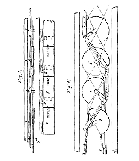 Daniel Rudd, Improvement in the Mode of Propelling Ships and Other Vessels, Patent Number 2,509March 23, 1842
