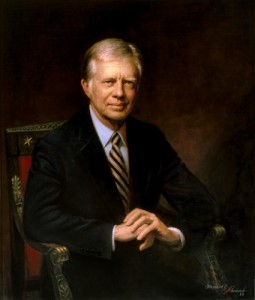 Herbert Abrams, Jimmy Carter, 1983, oil on canvas - The White House