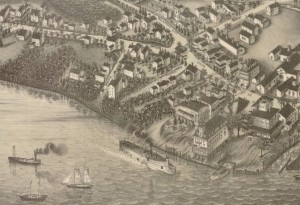 Detail of Goodspeed's Landing