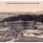 Postcard of the Pavilion, Rocky Neck State Park