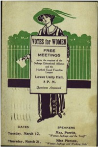 Votes for Women. A postcard made by the Suffrage Educational Alliance