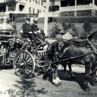 The horse-drawn hand-pumper - Greenwich Historical Society