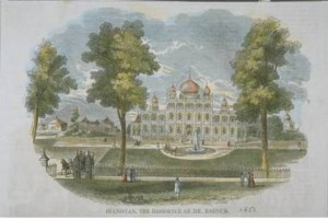 Iranistan, residence of Mr. Barnum, Bridgeport