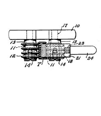 Paul W. Johnson Roll Gage with Test Part CarrierPatent Number 2,854,754October 7, 1958