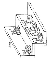 H. Jerome Burr Stair RodPatent Number 86,357February 2, 1869