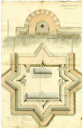 William Eustis plans for New London