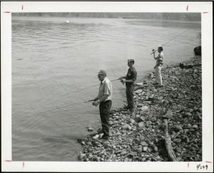 Fishing for Shad at Middletown