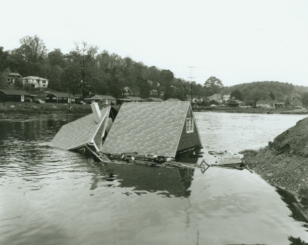 Byram River, Pemberwick, October 16, 1955