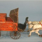 Toy Peddler's Wagon