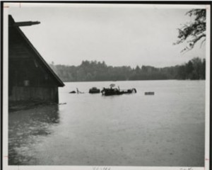 Flooded Farm in Simsbury