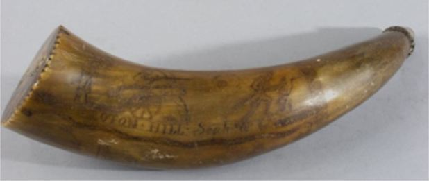 Powder Horn, about 1781