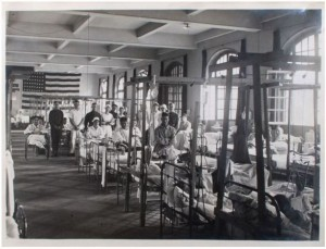 Ward 83, American Red Cross Military Hospital Number 1