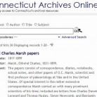 Connecticut Archives Online
