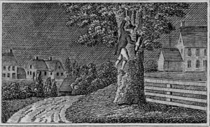 Woodcut, from Historical Scenes in the United States by John Warner Barber - Connecticut Historical Society