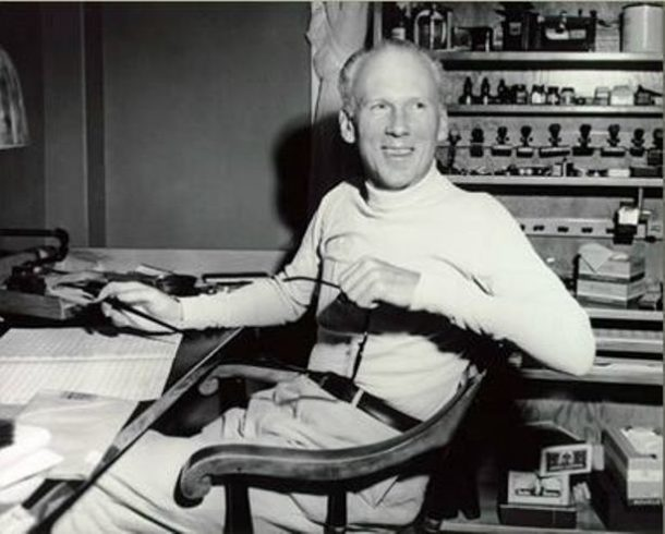 Leroy Anderson at home in the 1950s