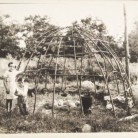 Frame for Indian round house