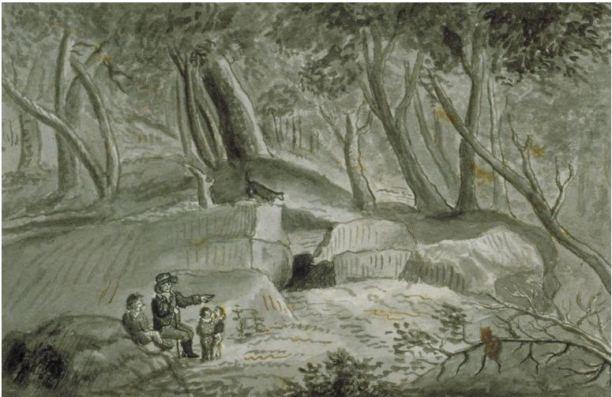 Putnam's Cave or Wolf Den