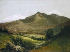 Adirondack Landscape, Mount McIntire by John Frederick Kensett