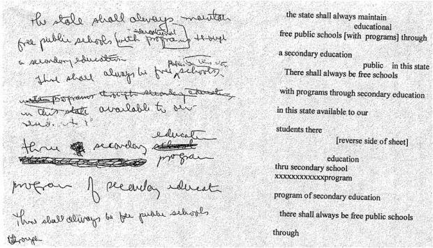 1965 Education Amendment draft