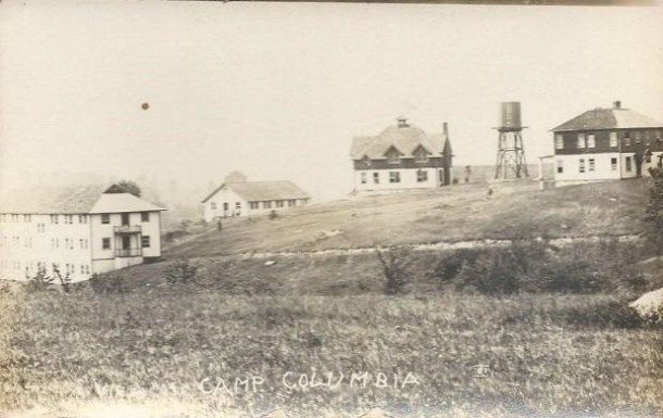 View of Camp Columbia, Morris