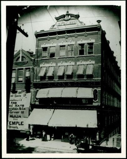 Exterior Views of G. Fox & Co.