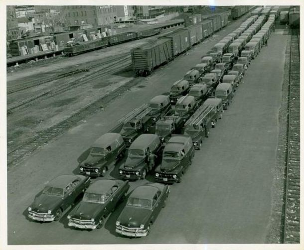 G. Fox and Co. Delivery Fleet, ca.1910-1950