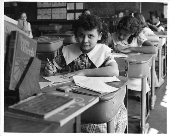 Hartford classroom, 1957