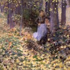 Autumn Sunlight by Theodore Robinson