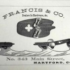 Francis and Co. Trade Card