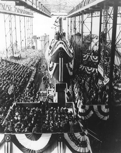 Launching of the Nautilus