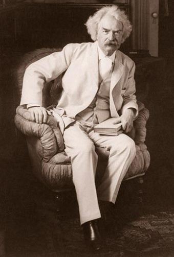 Image result for mark twain in 1885