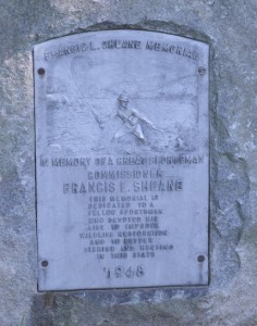 Monument honoring Francis L. Sheane