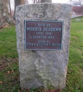 Morris Academy marker