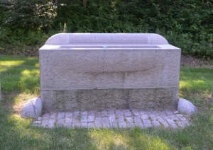 The Harwinton water trough