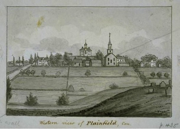 Western view of Plainfield