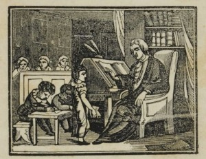 From the chapbook The Rich Gentleman and His Two Sons by John Warner Barber, 1838