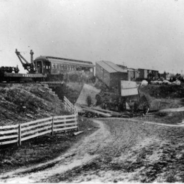 East Thompson train wreck, December 4, 1891