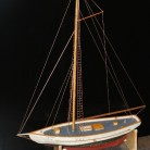 "A model of one of the ships that made up the ""Flea Fleet"" - Naugatuck Historical Society"