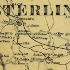 Detail from Map of Windham County, Connecticut