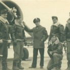 Stanley Budleski and flight crew, 1942 - Connecticut Historical Society. Gift of Mary Jane Dapkus