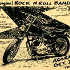 """""""4 original Rock n Roll Bands October 28, 1982,"""" concert flyer. Joe Snow Punk Rock Collection - Archives & Special Collections at the Thomas J. Dodd Research Center,  University of Connecticut Libraries"""