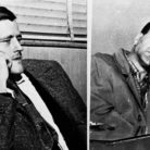 Joseph L. Taborsky, left, and Arthur Colombe, right, were linked to six murders and eight armed robberies. State police said one of the pair confessed, implicating the other, Feburary 1957 - © The Associated Press
