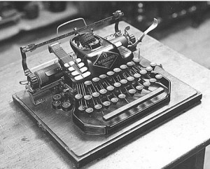 Blickensderfer Typewriter Model #8 - Stamford Historical Society