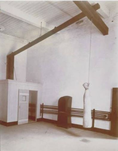 Execution room, Connecticut State Prison, Wethersfield - Connecticut Historical Society and Connecticut History Online